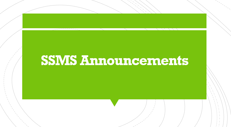 SSMS Daily Announcements