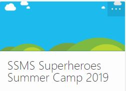 Incoming 6th Grade Superheroes Summer Camp