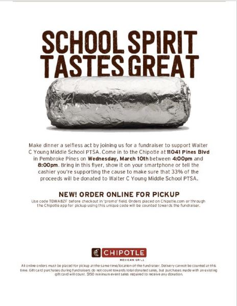 Chipotle Fund Raiser