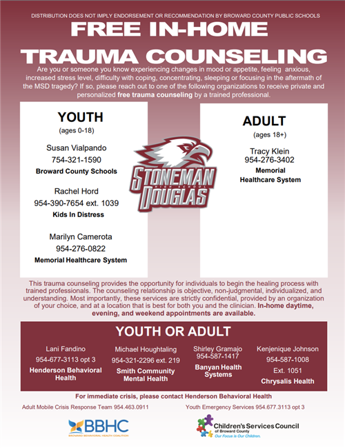 MSD Trauma Counseling