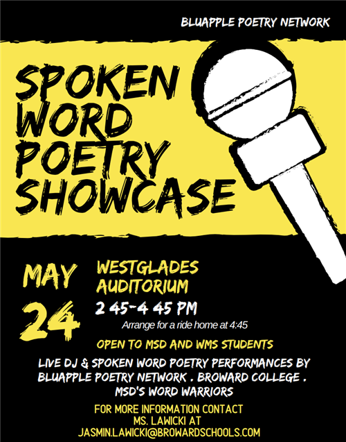 Spoke Word Poetry Showcase