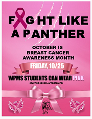 Fight like a Panther for Breast Cancer Awareness