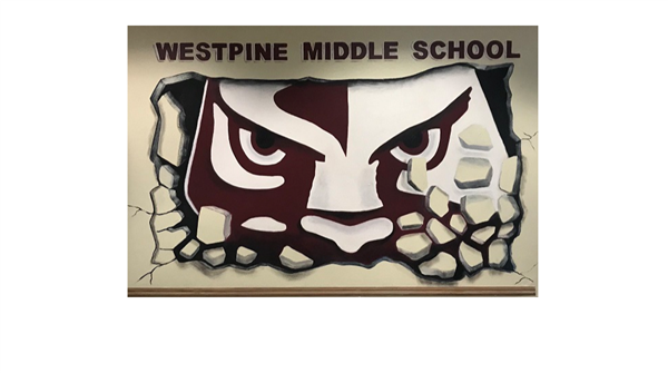 Westpine's Art Class presents their first completed project of the school year
