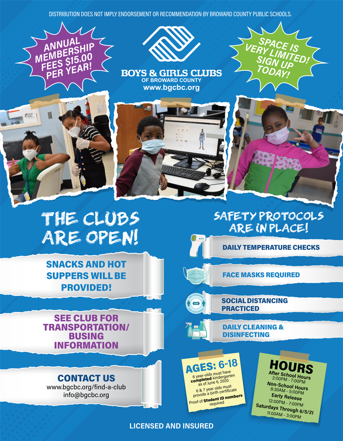 Boys and Girls Club Flyer Part 1