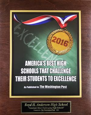 We Challenge our Students to Excellence!