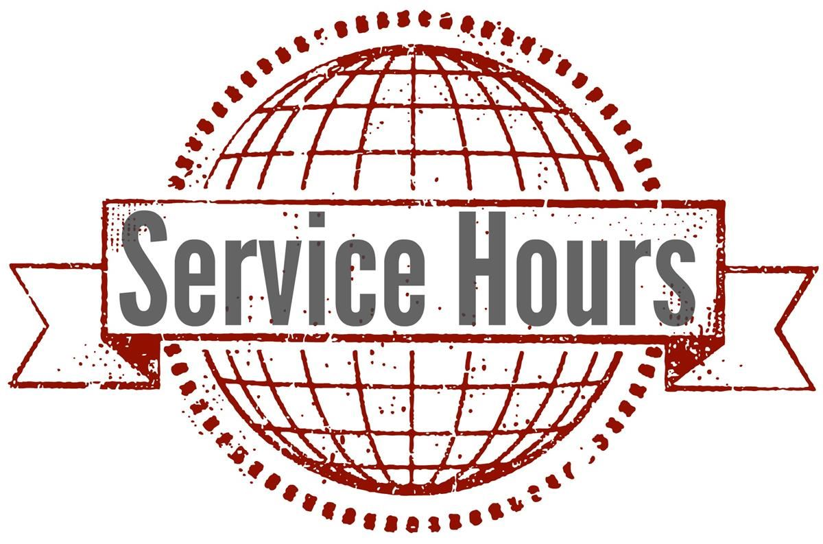 Class of 2020 Service Hours