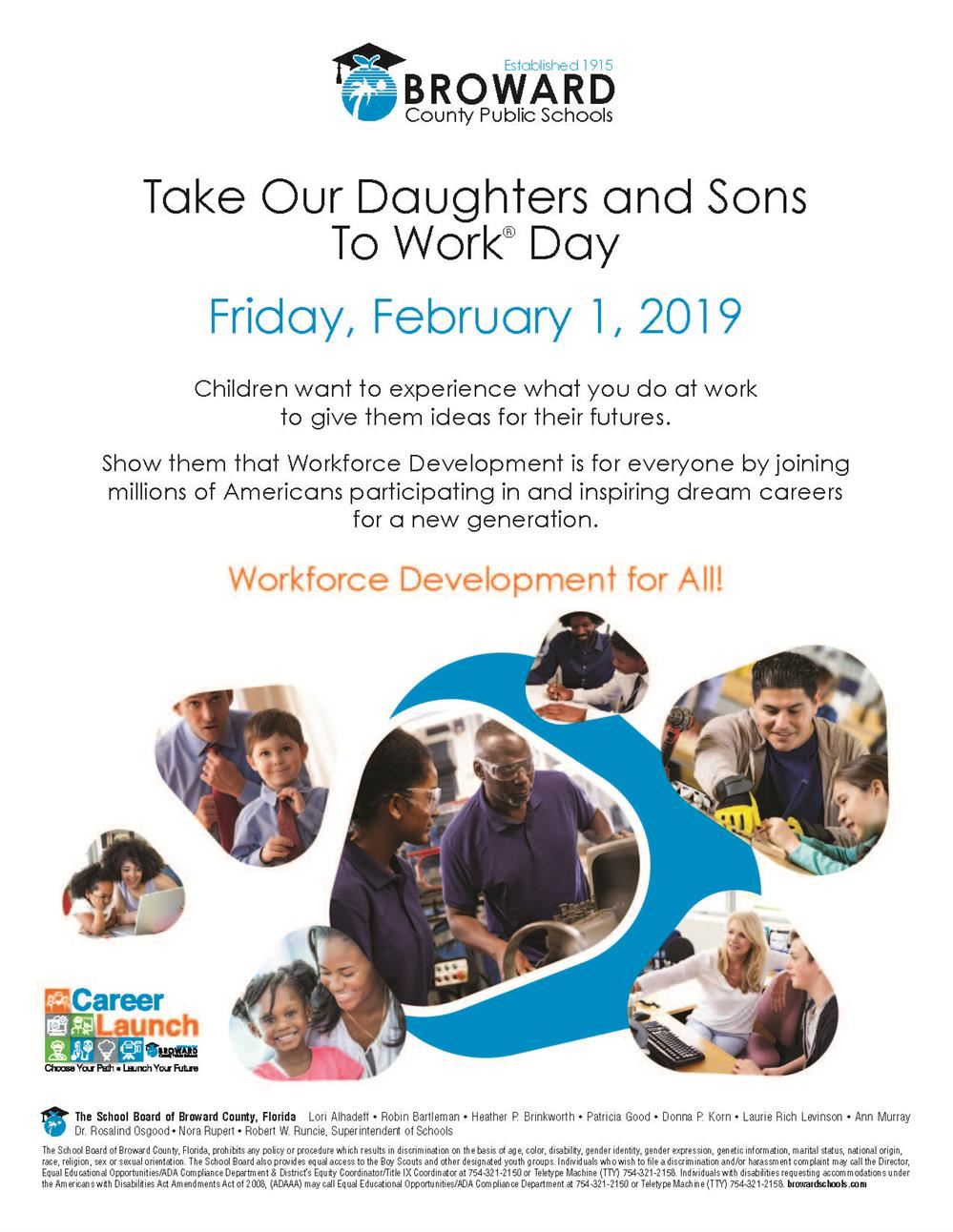 Take Our Daughters and Sons To Work® Day