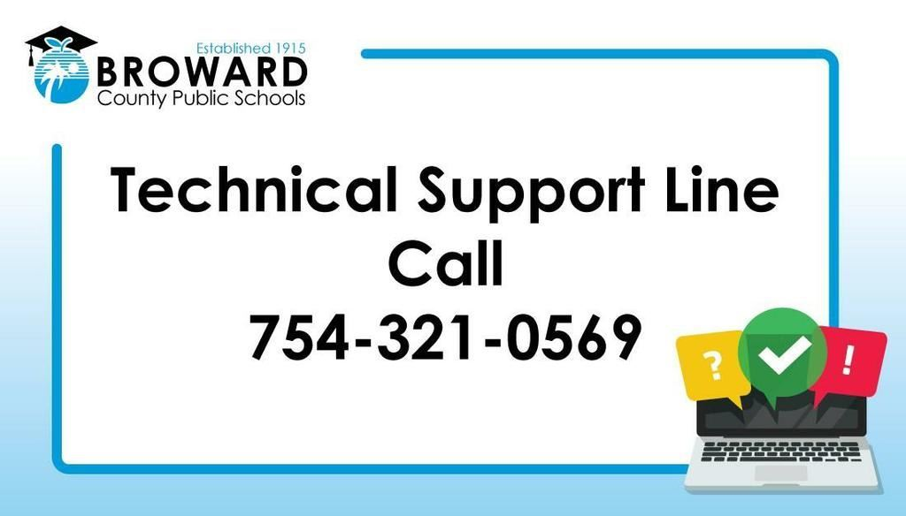 District Tech Line Support