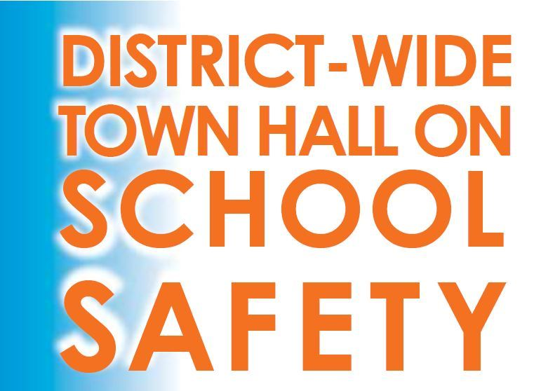 Words District-Wide Town Hall on School Safety