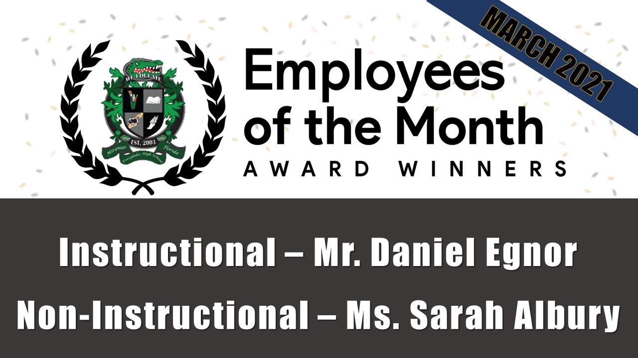 EHS Employees of the month