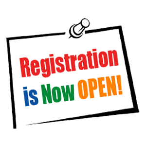 Student Registration Is Now Open
