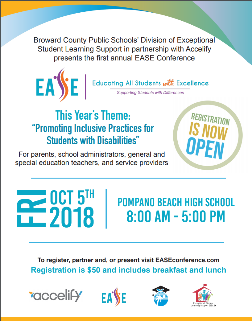 Excellence (EASE) Conference flyer