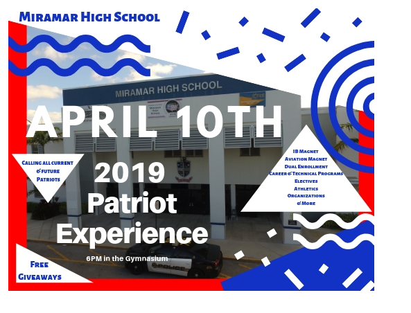 Patriot Experience Flyer