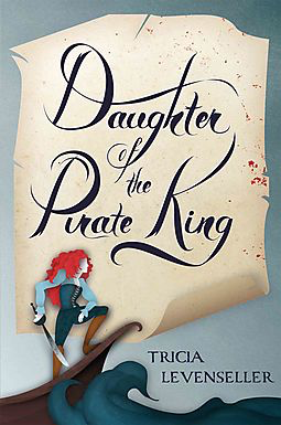 "Book cover for ""Daughter of the Pirate King"""
