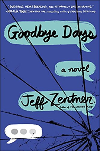 Goodbye Days book cover image