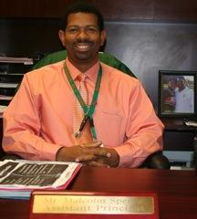Malcolm Spence, 9th grade assistant principal