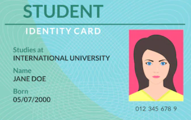 Student ID Example