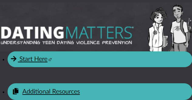 Parent Dating Violence Prevention Training Module 2020-21 Link