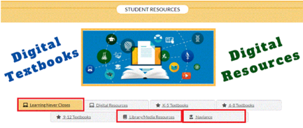 Accessing Student Resources Digital Textbooks and Digital Resources