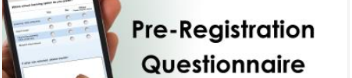 Pre-Registration Questionnaire