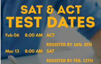SAT and ACT Testing Dates