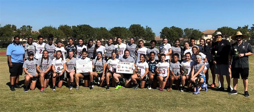 3/21/18 Flag Football vs Stoneman Douglas