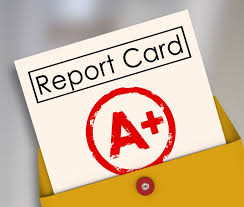 Report Cards Will Be Mailed June 27th