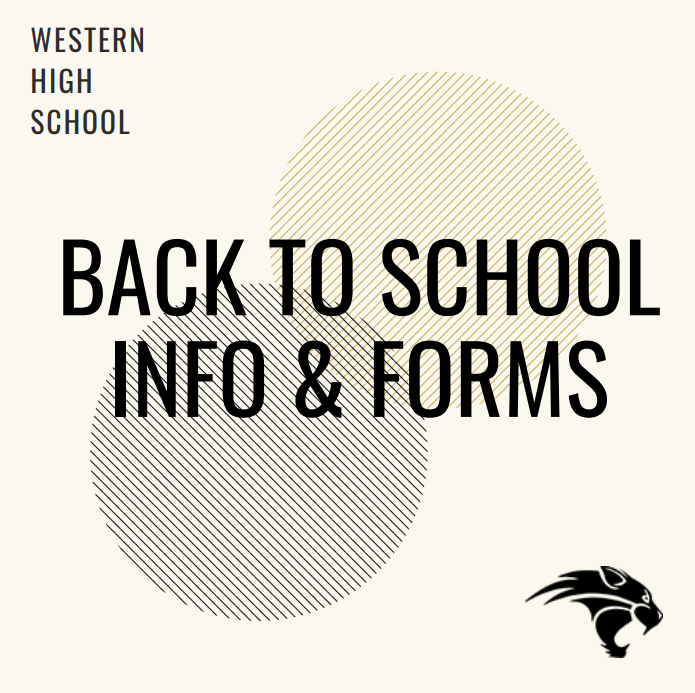 Back to school info and forms thumbnail