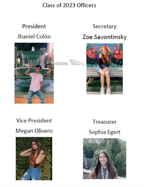 Class of 2023 Officers