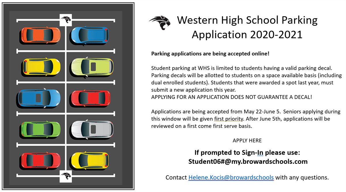 WHS 2020-2021 Parking application
