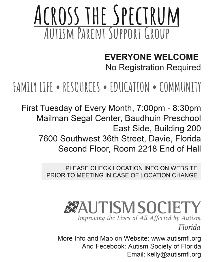 Autism Society Support