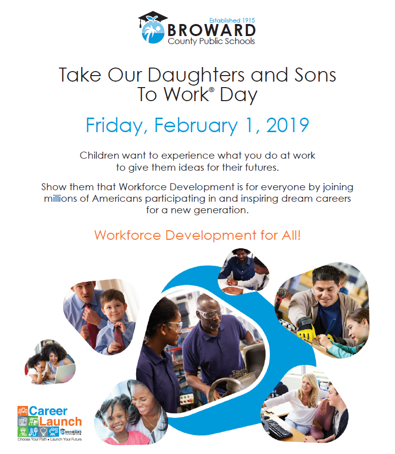 Take our daughters and sons to work day flyer img