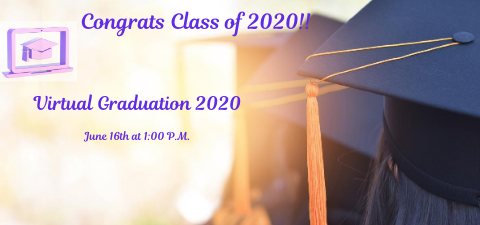 Watch Our Virtual Graduation of 2020