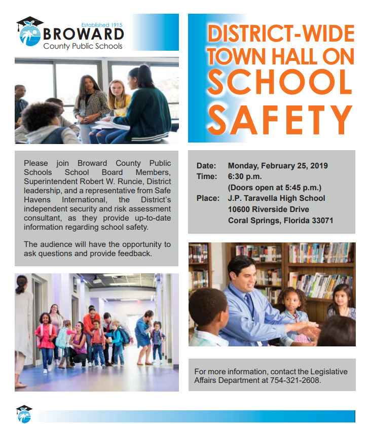 Town Hall On School Safety