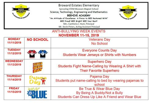Anti Bullying Flyer