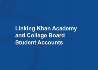 Steps to link Khan Academy and College Board Accounts