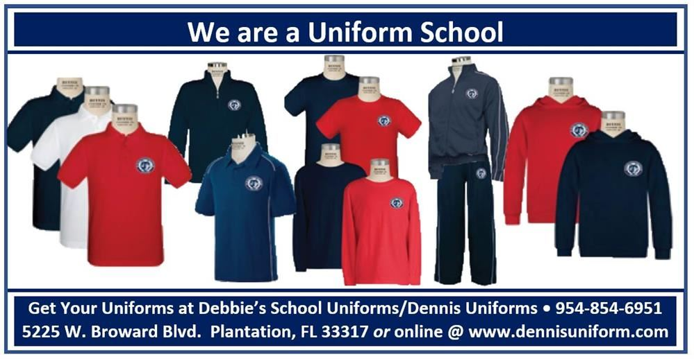 school uniform banner