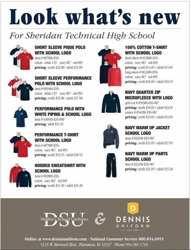 school uniform flyer