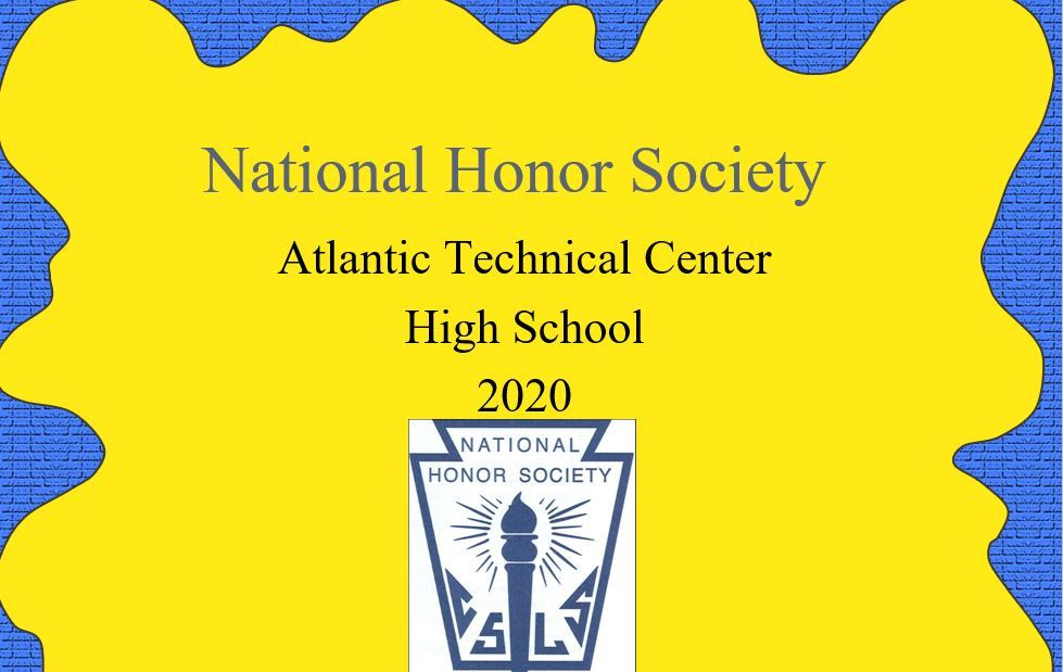 ATC National Honor Society Information for 2020 - 2021