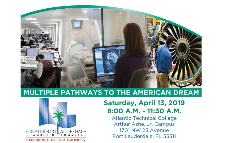 Multiple Pathways To The American Dream - Saturday 4/13/19