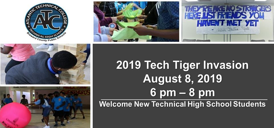 Tech Tiger Invasion - August 8, 2019 - 6 pm to 8 pm