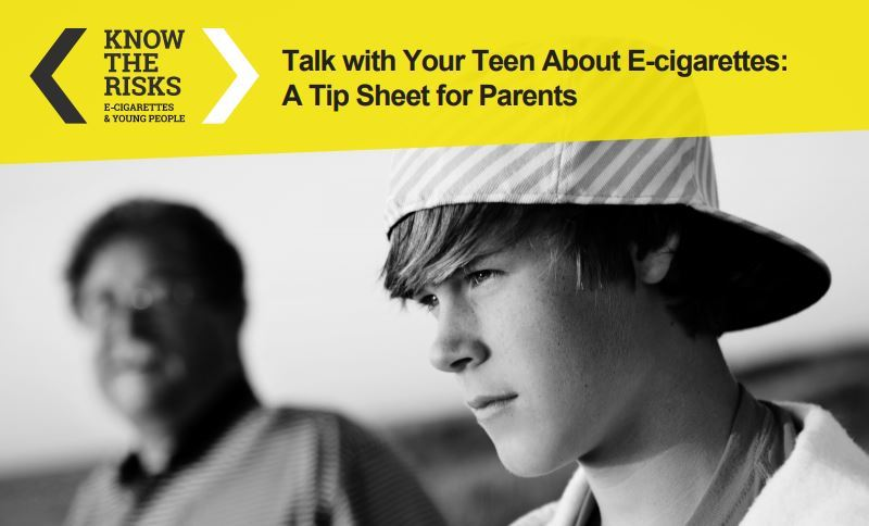 Substance Abuse Prevention: E-Cigarette and Vaping Family Resources