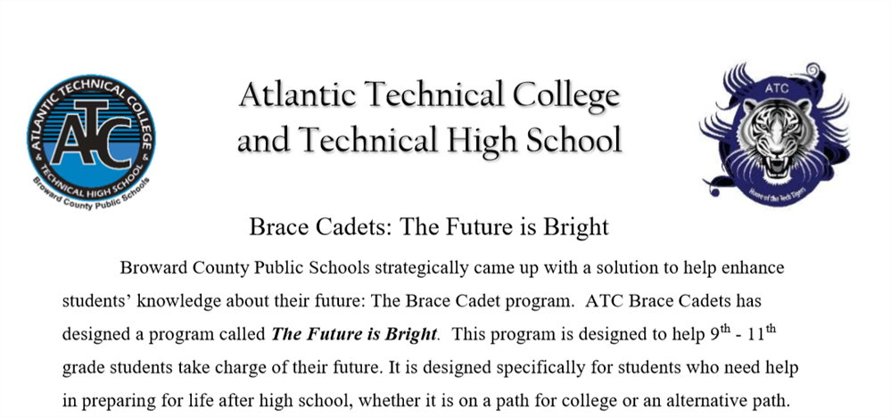 ATC Brace Cadets: The Future Is Bright
