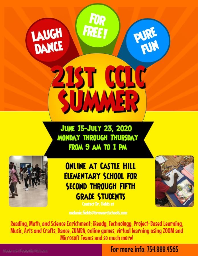 21st CCLC Summer Virtual Learning