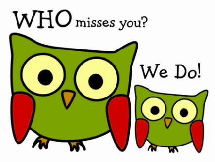 Missing You Messages From CPE and PTA