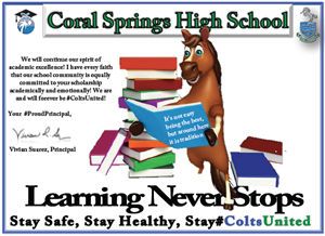 Learning Never Stops {CSHS'S Guide to Distance Learning}