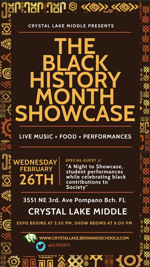CLMS 2020 Black History Month Showcase