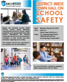 District-Wide Town Hall on Safety