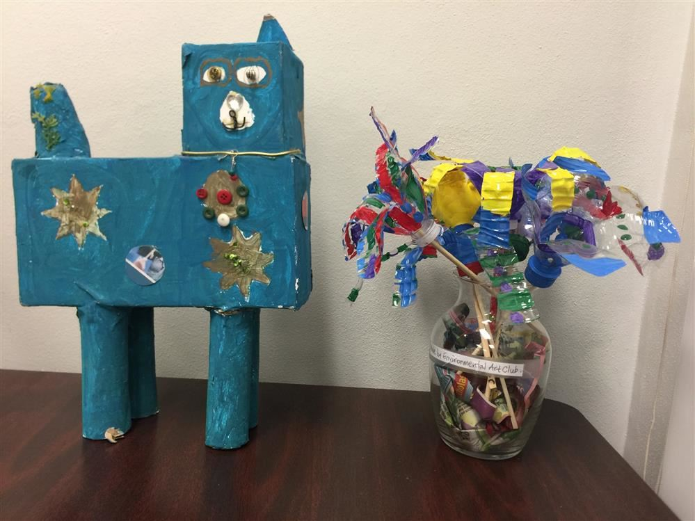 HCE Recycled Art Contest