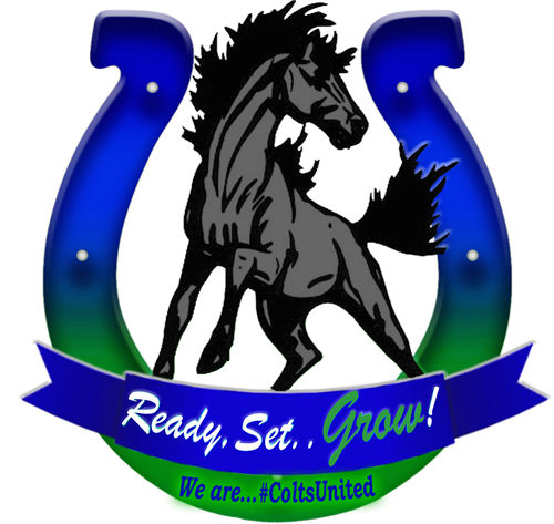 Ready, Set, Grow! We are #Colts United logo